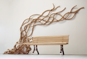 The organic bench of Pablo Reinoso