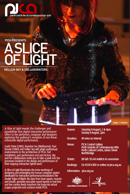 PICA - a slice of light invite